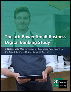 The ath Power Small Business Digital Banking Study
