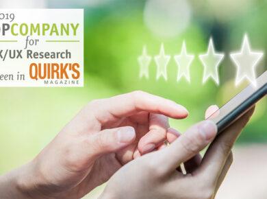 Quirk's Top CX/UX Company