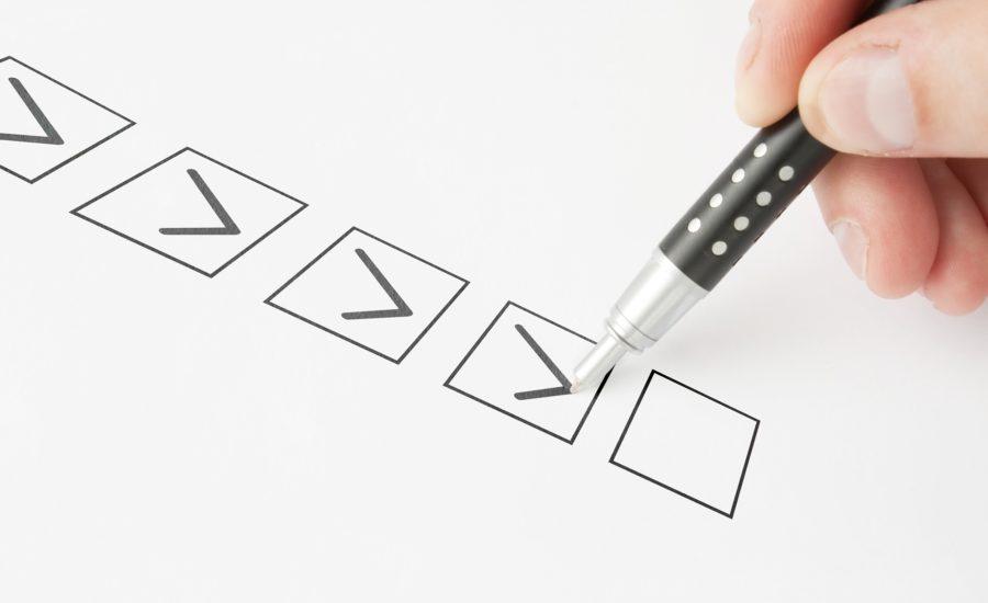 Five Checkmarks
