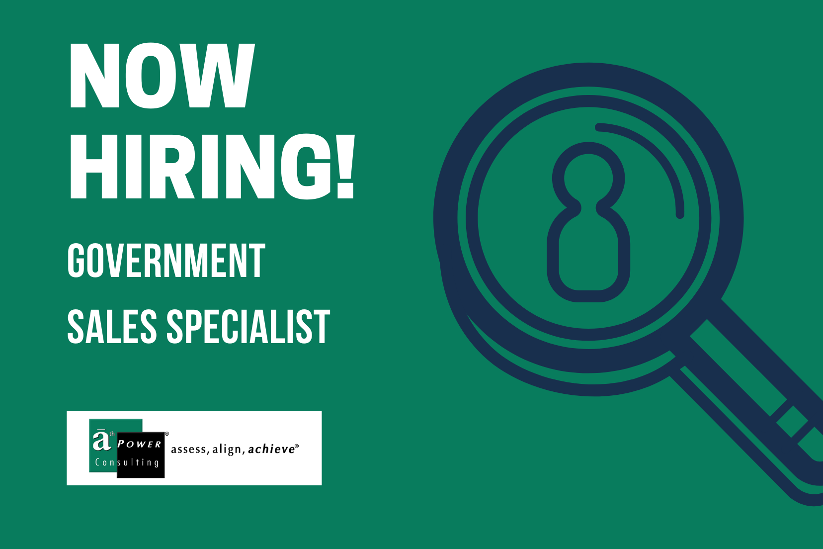 government sales specialist